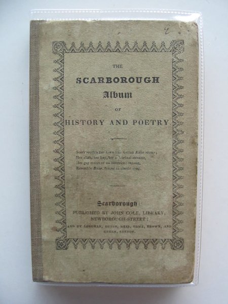 Photo of THE SCARBOROUGH ALBUM OF HISTORY AND POETRY published by John Cole (STOCK CODE: 987786)  for sale by Stella & Rose's Books