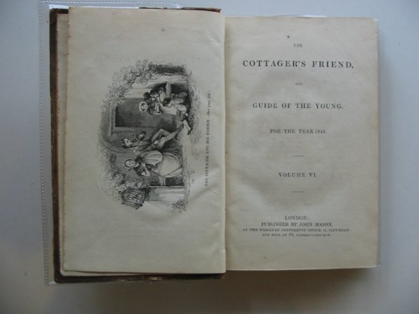 Photo of THE COTTAGER'S FRIEND VOLUME VI AND VII published by John Mason (STOCK CODE: 989109)  for sale by Stella & Rose's Books