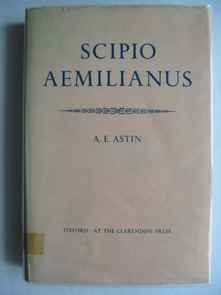 Photo of SCIPIO AEMILIANUS written by Astin, A.E. published by Oxford University Press (STOCK CODE: 989288)  for sale by Stella & Rose's Books