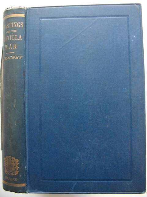 Photo of HASTINGS AND THE ROHILLA WAR written by Strachey, John published by Oxford University Press (STOCK CODE: 989627)  for sale by Stella & Rose's Books