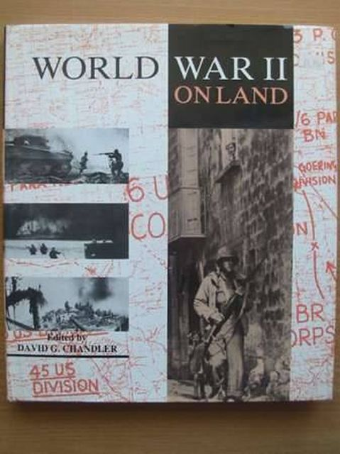 Photo of WORLD WAR II BATTLE ON LAND written by Chandler, David G. published by Mallard Press (STOCK CODE: 989821)  for sale by Stella & Rose's Books