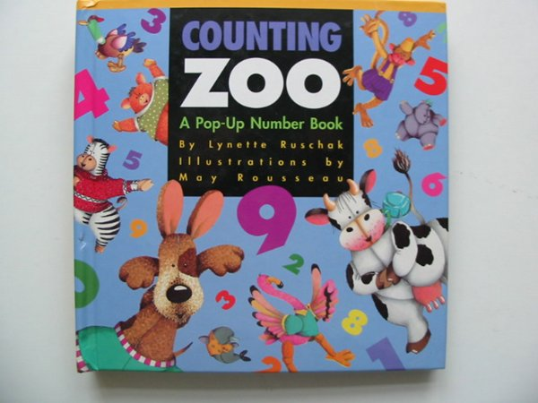 Photo of COUNTING ZOO written by Ruschak, Lynette illustrated by Rousseau, May published by Envision Publishing (STOCK CODE: 991011)  for sale by Stella & Rose's Books