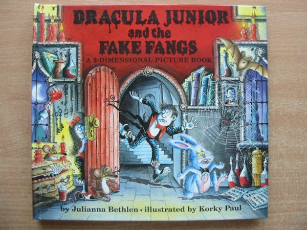 Photo of DRACULA JUNIOR AND THE FAKE FANGS written by Bethlen, Julianna illustrated by Paul, Korky published by Tango Books (STOCK CODE: 991089)  for sale by Stella & Rose's Books