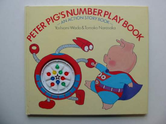 Photo of PETER PIG'S NUMBER PLAY BOOK written by Wada, Yoshiomi<br />Narasaka, Tomoko published by Methuen Children's Books (STOCK CODE: 991618)  for sale by Stella & Rose's Books
