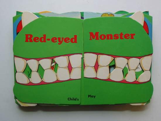 Photo of THE RED-EYED MONSTER illustrated by Adams, Pam published by Child's Play (International) Ltd. (STOCK CODE: 991698)  for sale by Stella & Rose's Books