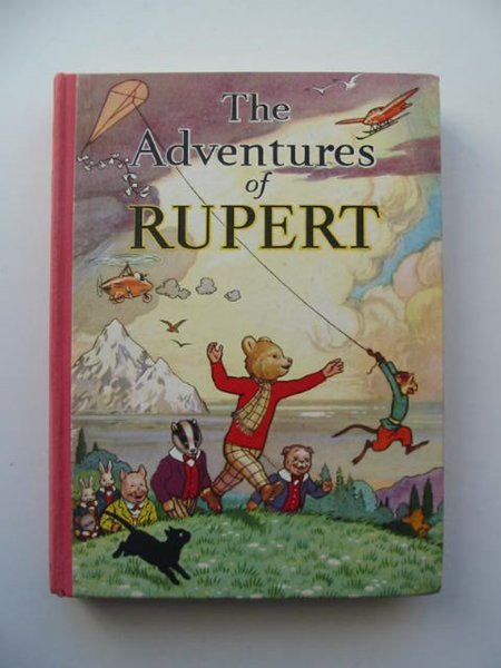 Cover of RUPERT ANNUAL 1939 - THE ADVENTURES OF RUPERT by Alfred Bestall