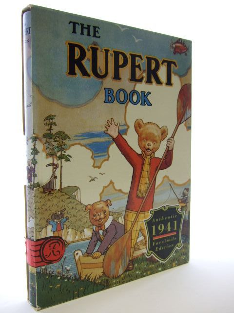 Cover of RUPERT ANNUAL 1941 (FACSIMILE) - THE RUPERT BOOK by Alfred Bestall