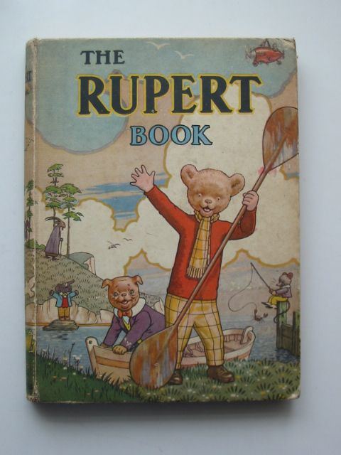 Cover of RUPERT ANNUAL 1941 - THE RUPERT BOOK by Alfred Bestall