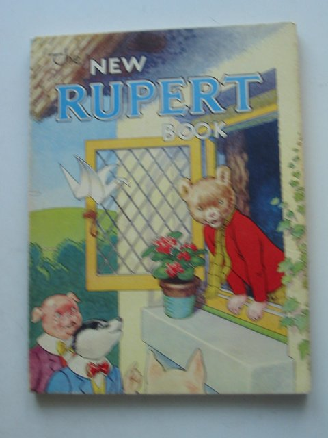 Cover of RUPERT ANNUAL 1946 - THE NEW RUPERT BOOK by Alfred Bestall