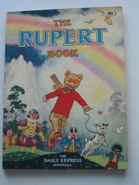 Cover of RUPERT ANNUAL 1948 - THE RUPERT BOOK by Alfred Bestall