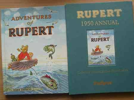 Cover of RUPERT ANNUAL 1950 (FACSIMILE) - ADVENTURES OF RUPERT by Alfred Bestall