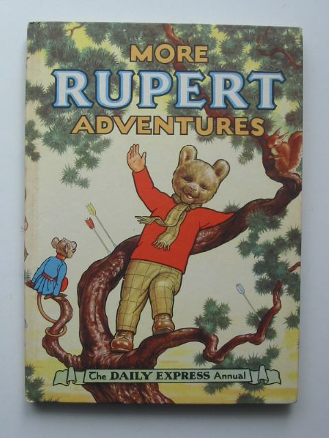 Cover of RUPERT ANNUAL 1952 - MORE RUPERT ADVENTURES by Alfred Bestall