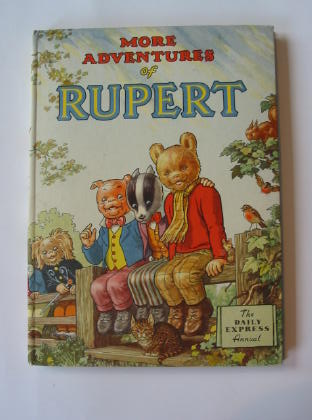 Cover of RUPERT ANNUAL 1953 - MORE ADVENTURES OF RUPERT by Alfred Bestall