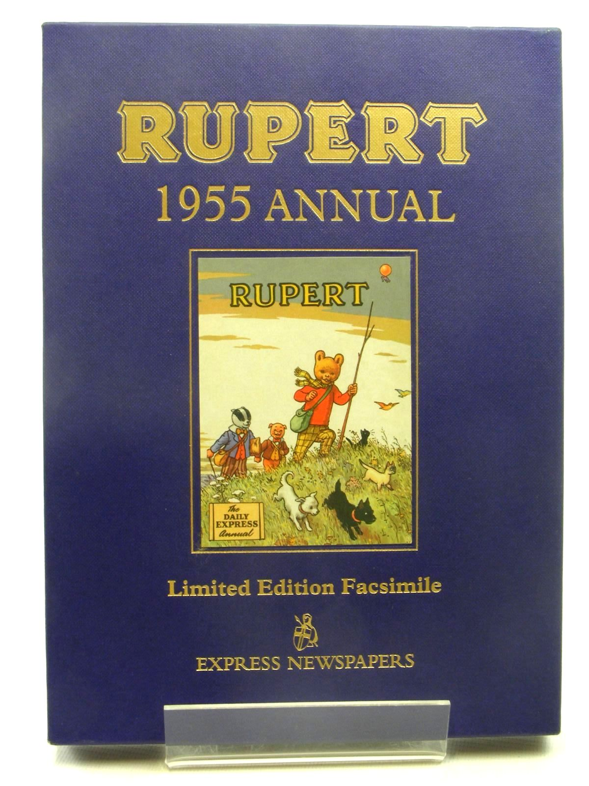 Cover of RUPERT ANNUAL 1955 (FACSIMILE) by Alfred Bestall