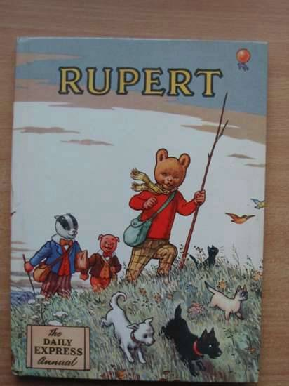 Cover of RUPERT ANNUAL 1955 by Alfred Bestall