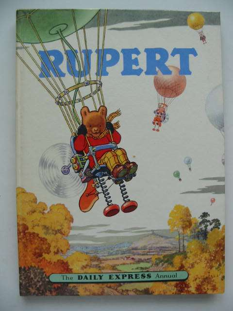 Cover of RUPERT ANNUAL 1957 by Alfred Bestall