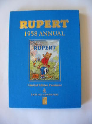 Cover of RUPERT ANNUAL 1958 (FACSIMILE) by Alfred Bestall