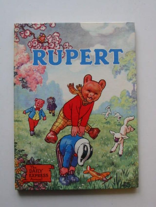 Cover of RUPERT ANNUAL 1958 by Alfred Bestall