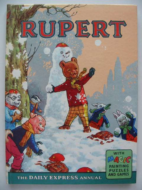Cover of RUPERT ANNUAL 1962 by Alfred Bestall