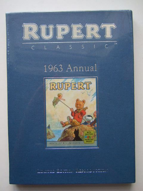 Cover of RUPERT ANNUAL 1963 (FACSIMILE) by Alfred Bestall