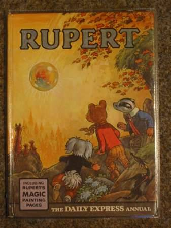 Cover of RUPERT ANNUAL 1968 by Alfred Bestall