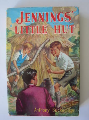 Cover of JENNINGS' LITTLE HUT by Anthony Buckeridge