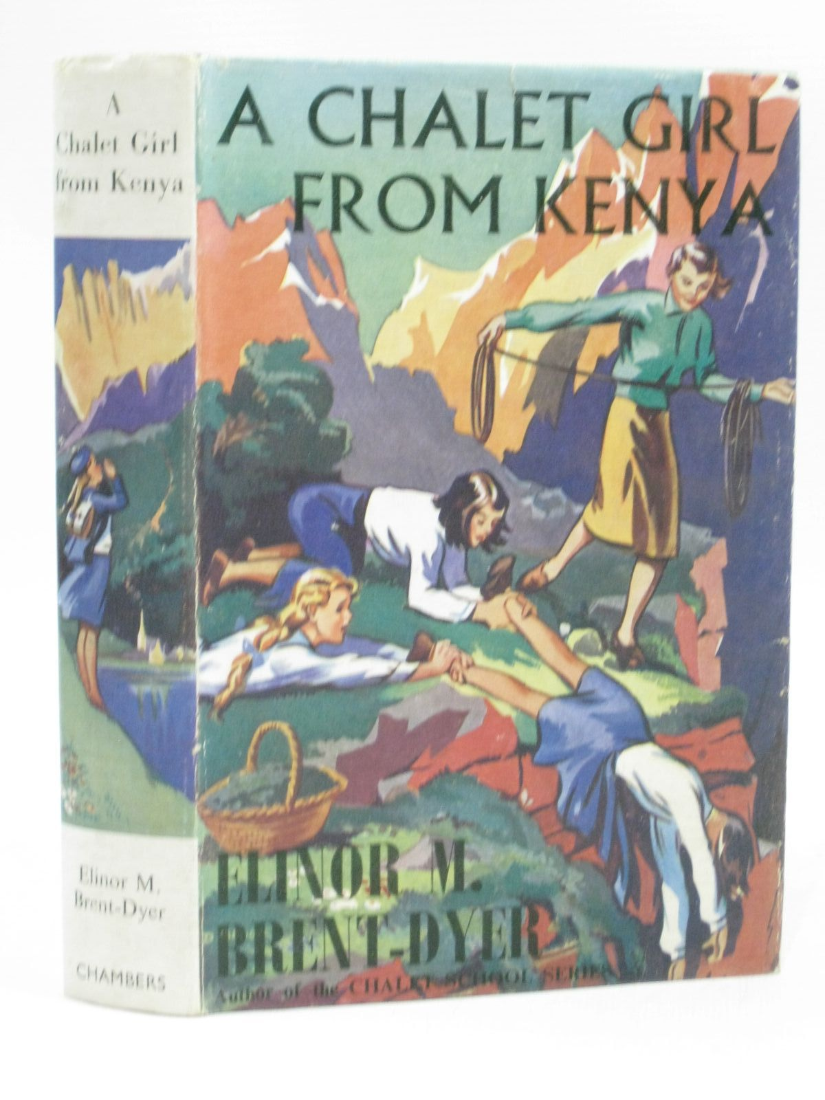 Cover of A CHALET GIRL FROM KENYA by Elinor M. Brent-Dyer