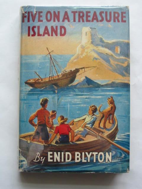 Cover of FIVE ON A TREASURE ISLAND by Enid Blyton