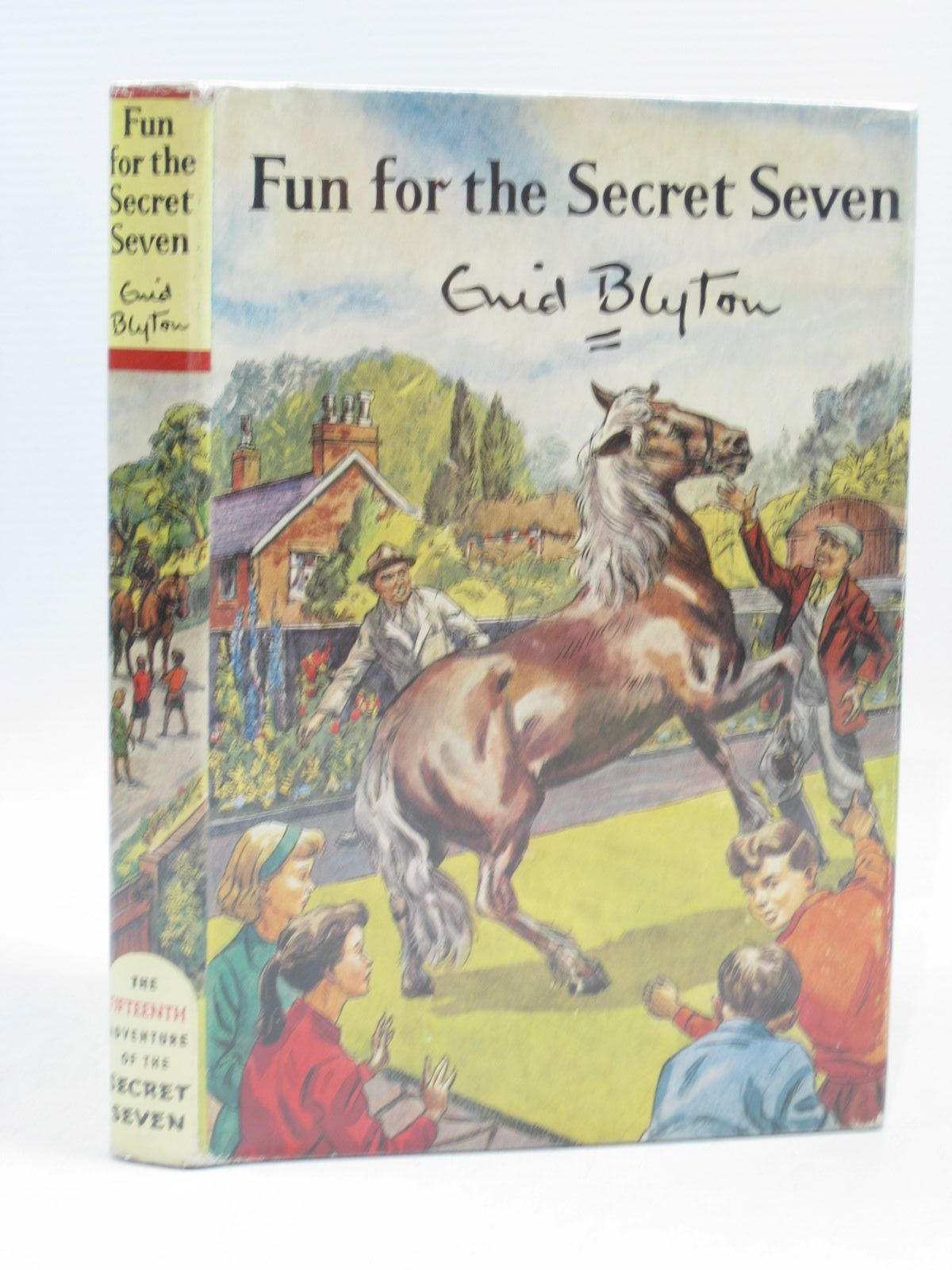 Cover of FUN FOR THE SECRET SEVEN by Enid Blyton
