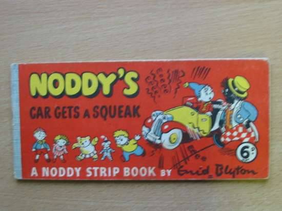 Cover of NODDY'S CAR GETS A SQUEAK by Enid Blyton