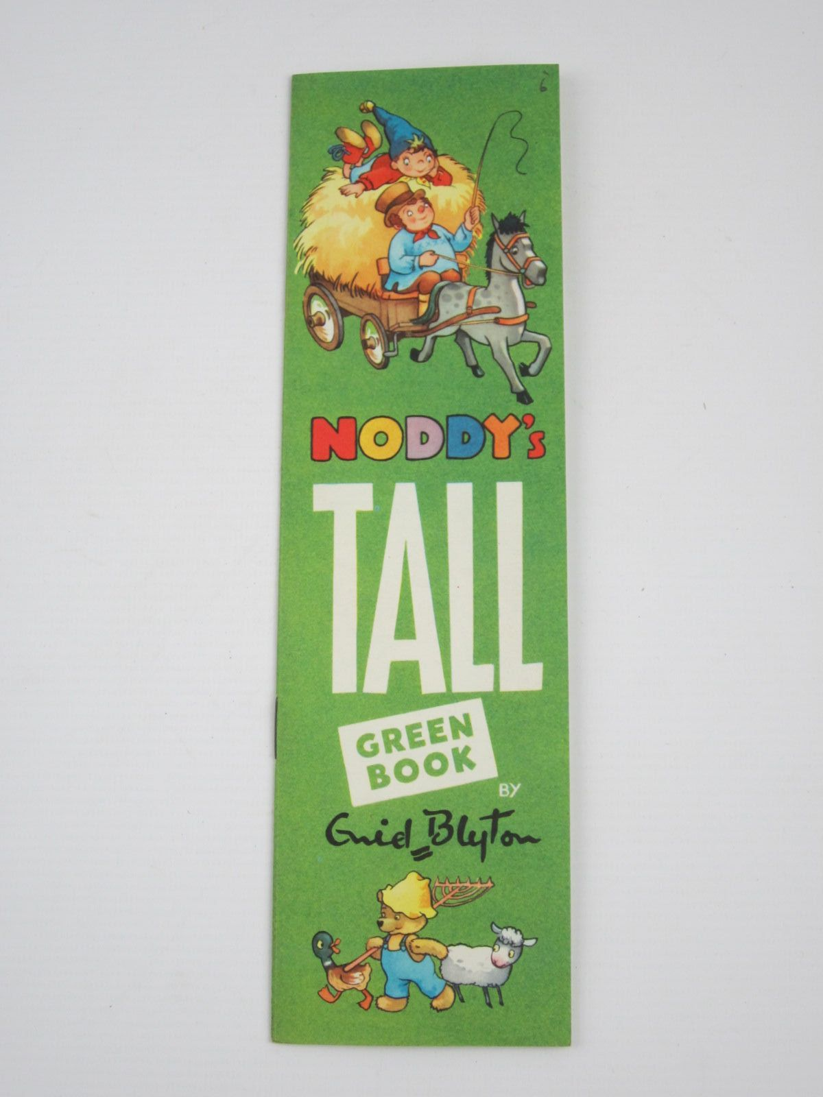Cover of NODDY'S TALL GREEN BOOK by Enid Blyton