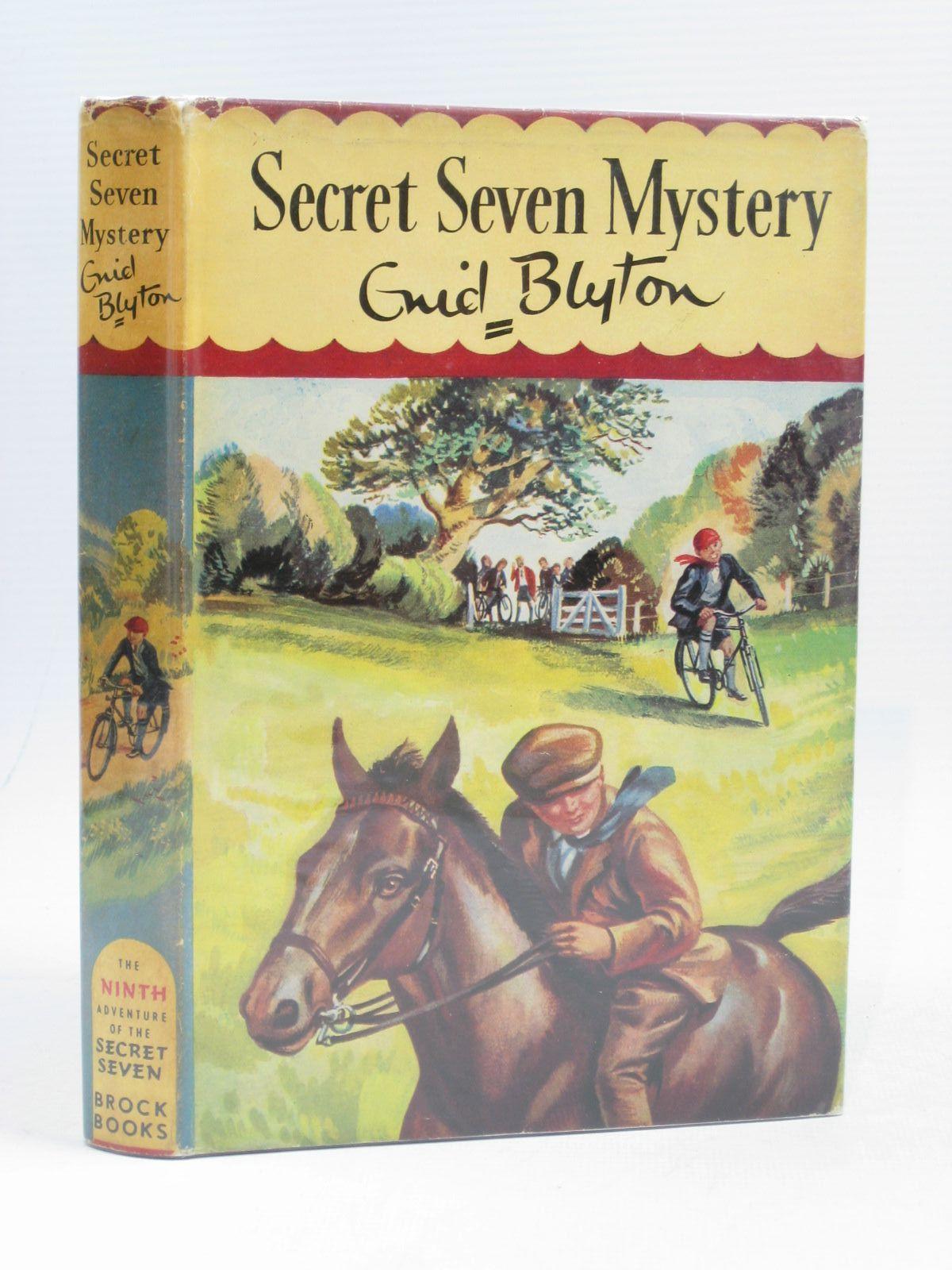 Cover of SECRET SEVEN MYSTERY by Enid Blyton