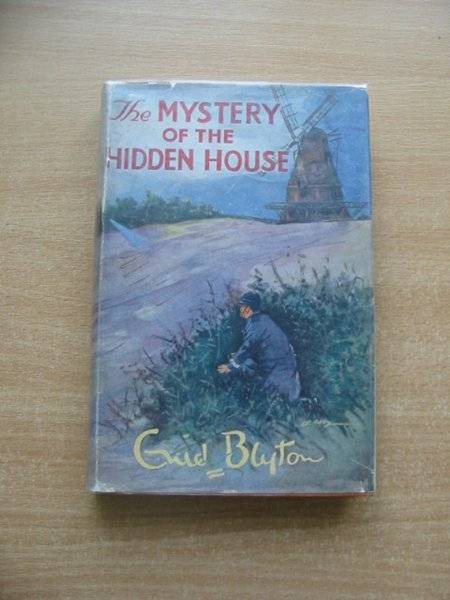 Cover of THE MYSTERY OF THE HIDDEN HOUSE by Enid Blyton