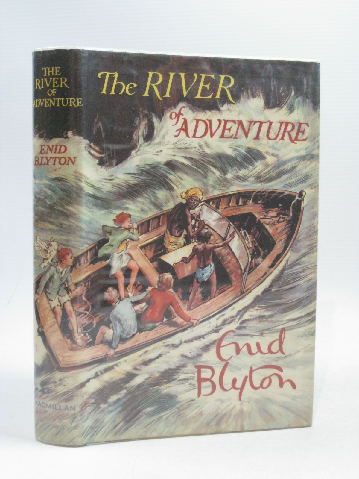 Cover of THE RIVER OF ADVENTURE by Enid Blyton