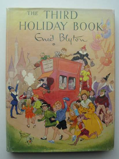 Cover of THE THIRD HOLIDAY BOOK by Enid Blyton
