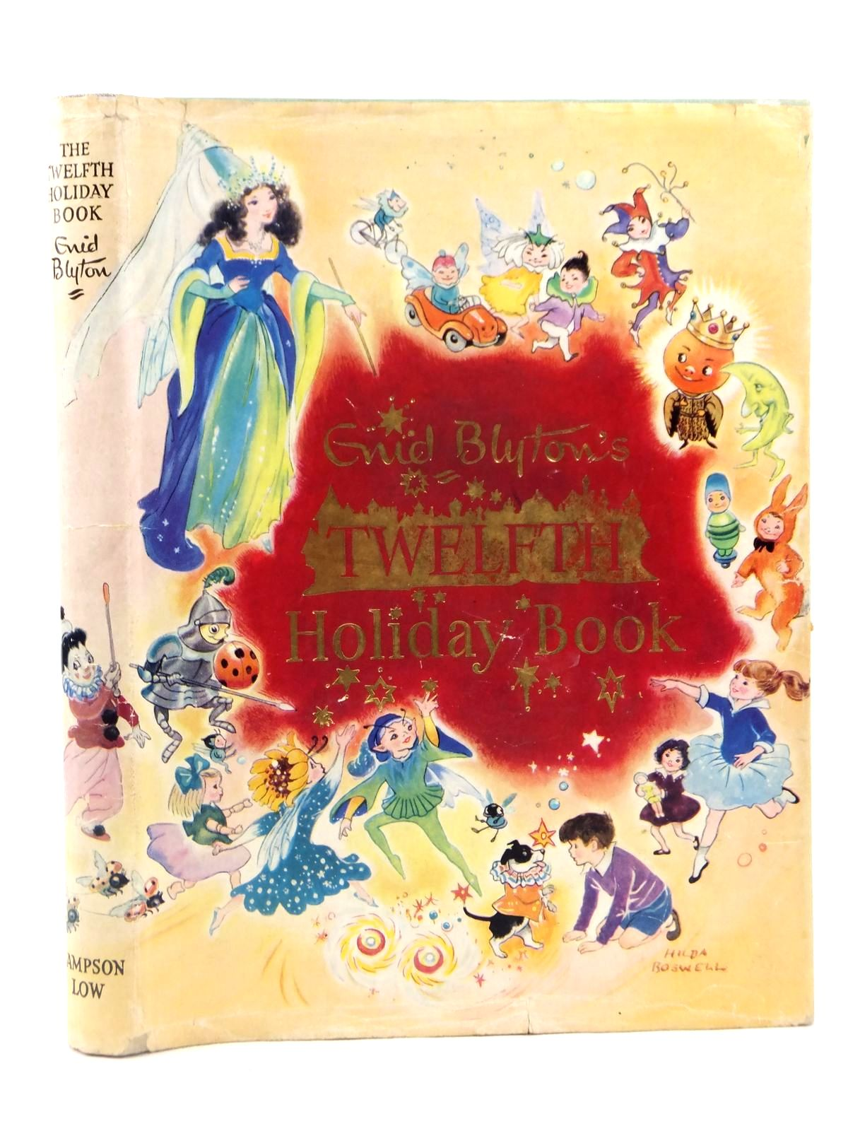 Cover of THE TWELFTH HOLIDAY BOOK by Enid Blyton