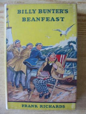 Cover of BILLY BUNTER'S BEANFEAST by Frank Richards