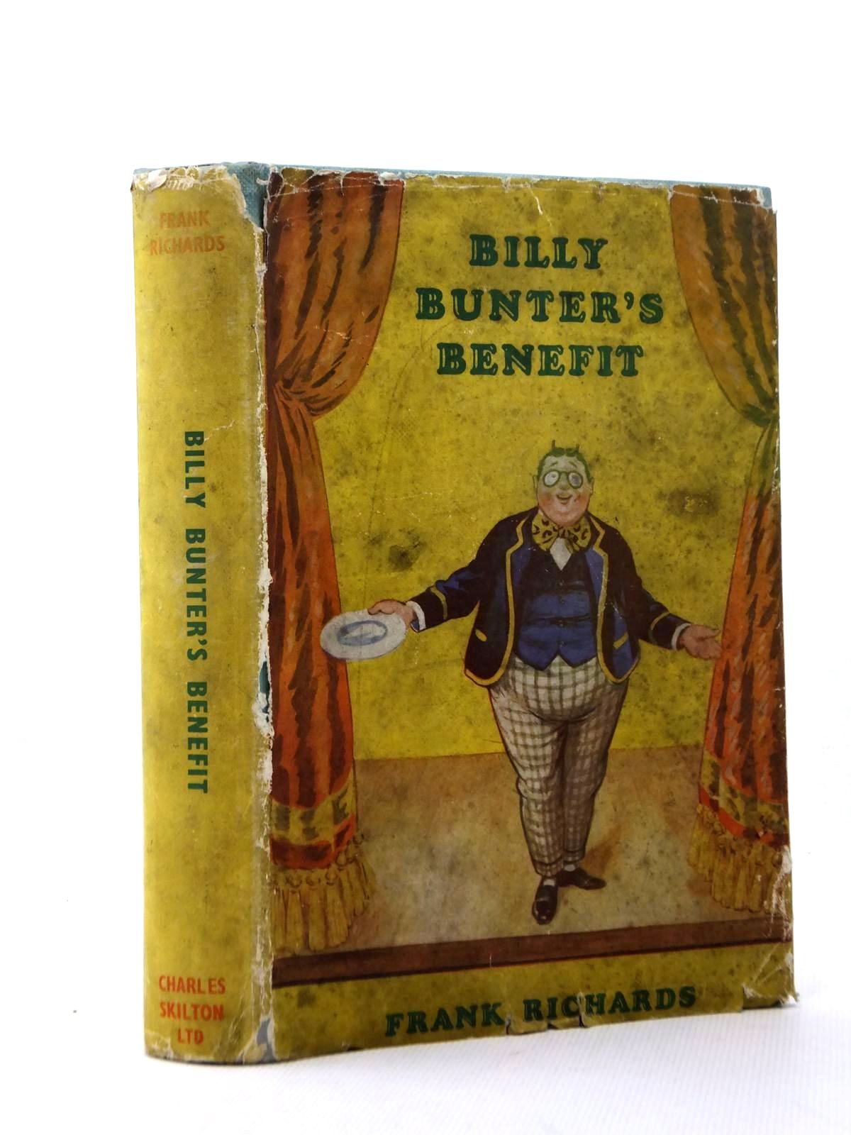 Cover of BILLY BUNTER'S BENEFIT by Frank Richards