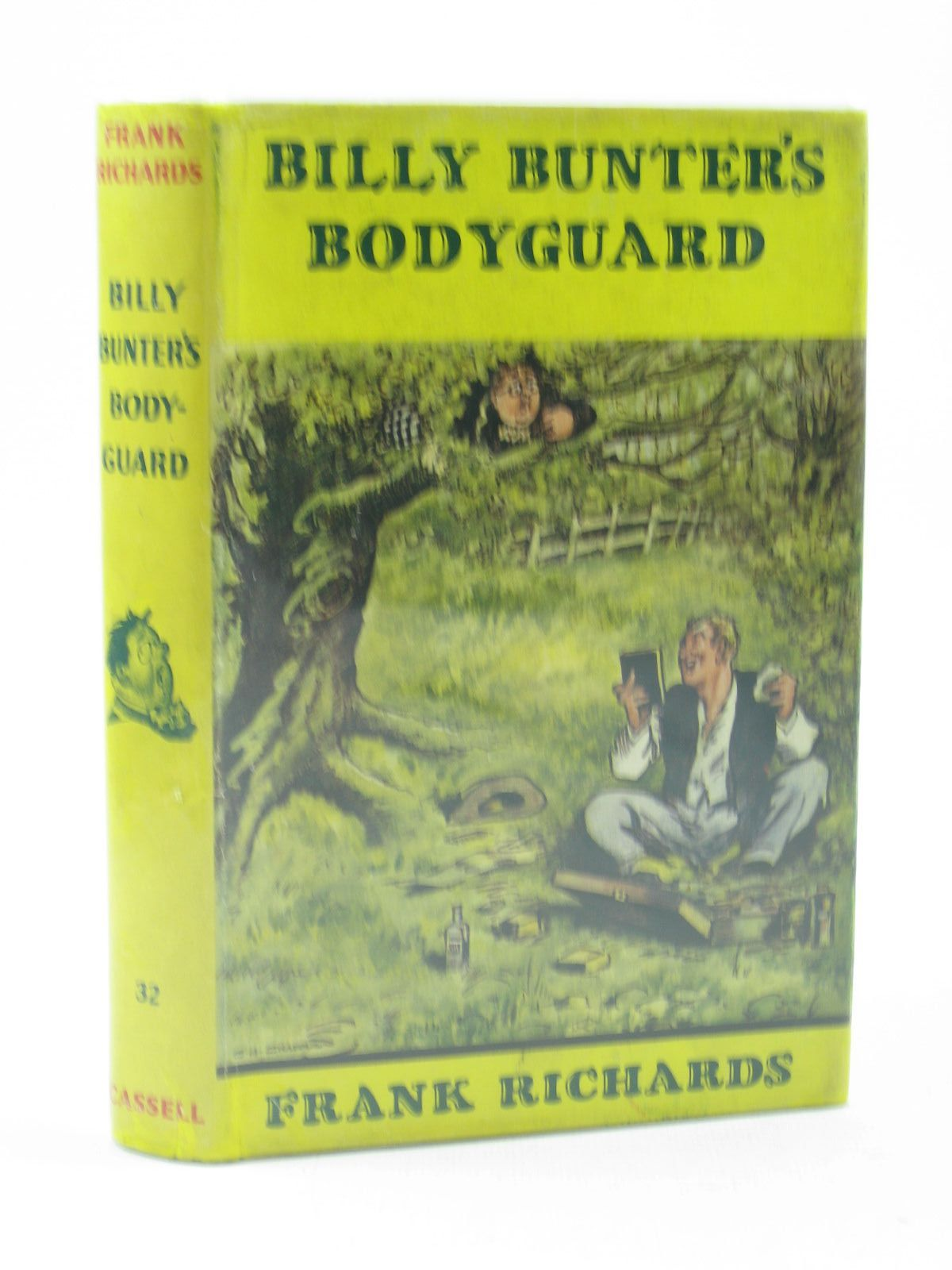Cover of BILLY BUNTER'S BODYGUARD by Frank Richards