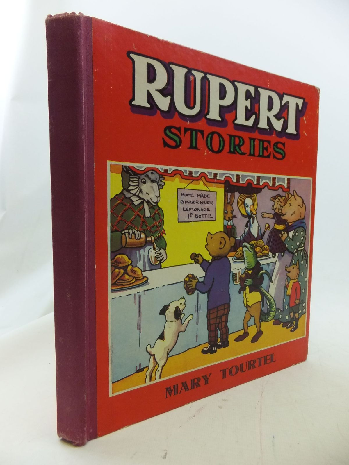 Cover of RUPERT STORIES by Mary Tourtel