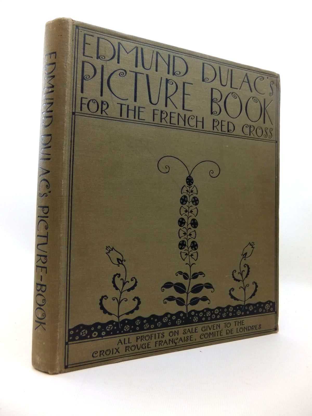 Cover of EDMUND DULAC'S PICTURE BOOK FOR THE FRENCH RED CROSS by