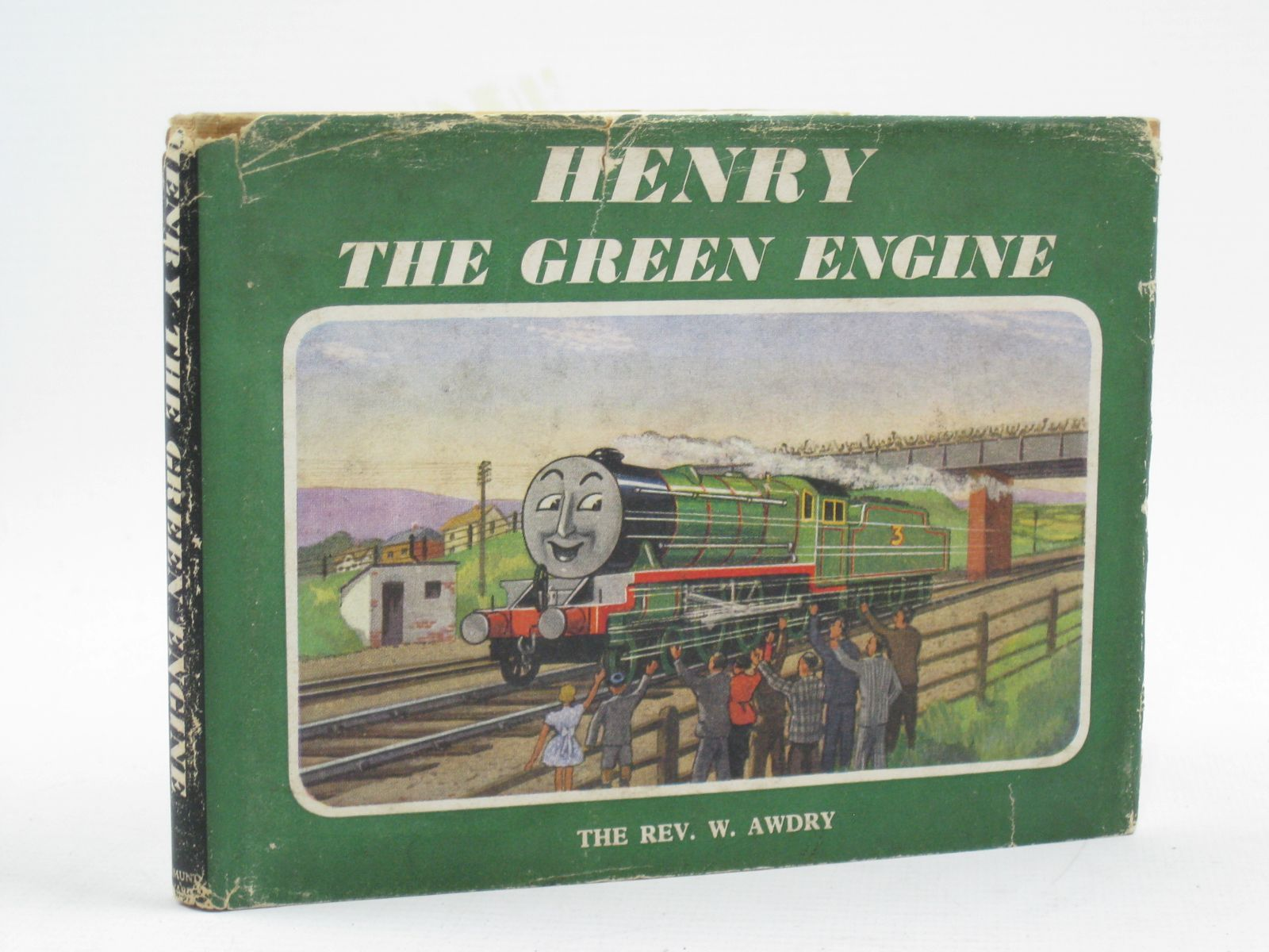 Cover of HENRY THE GREEN ENGINE by Rev. W. Awdry