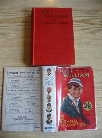 Cover of JUST WILLIAM by Richmal Crompton