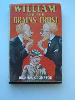 Cover of WILLIAM AND THE BRAINS TRUST by Richmal Crompton