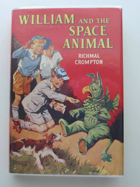 Cover of WILLIAM AND THE SPACE ANIMAL by Richmal Crompton