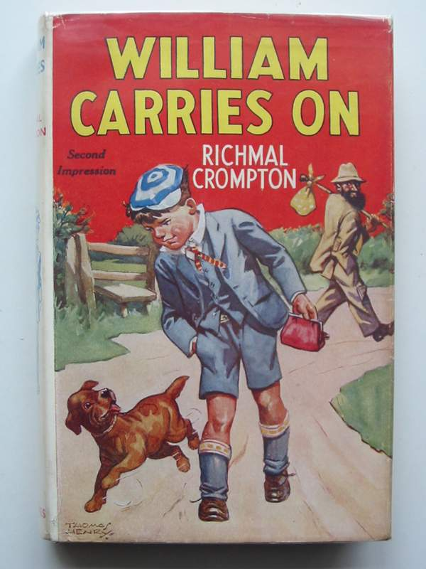 Cover of WILLIAM CARRIES ON by Richmal Crompton