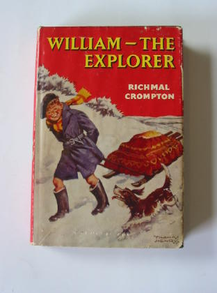 Cover of WILLIAM THE EXPLORER by Richmal Crompton