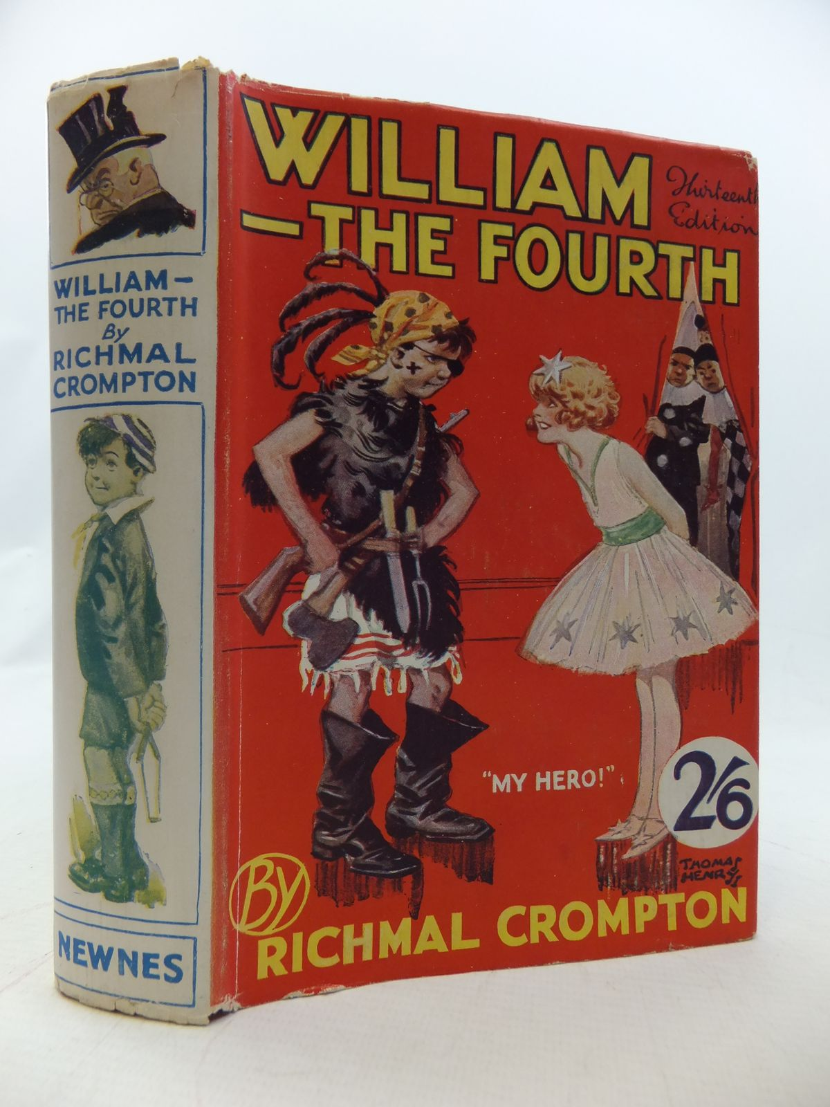 Cover of WILLIAM THE FOURTH by Richmal Crompton
