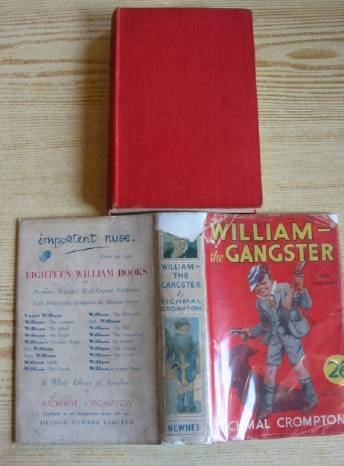 Cover of WILLIAM THE GANGSTER by Richmal Crompton