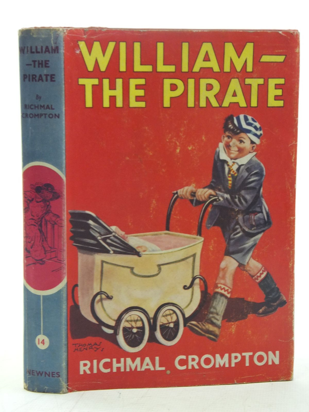 Cover of WILLIAM THE PIRATE by Richmal Crompton